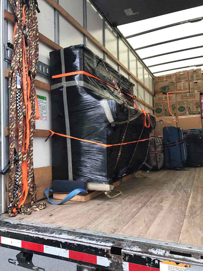 long distance piano movers