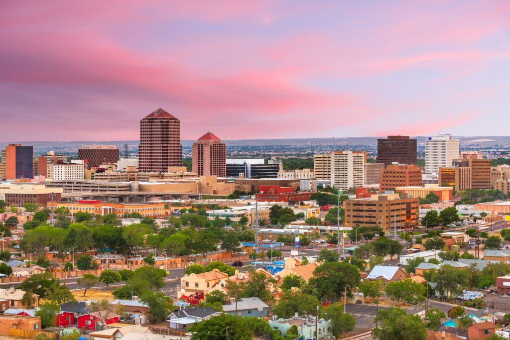 Moving from Boston to Albuquerque
